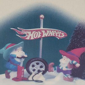 Dept 56 Hot Wheels Lets Give It A Spin North Pole